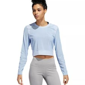 NWT Adidas Long sleeve Lightweight Mesh Top XL